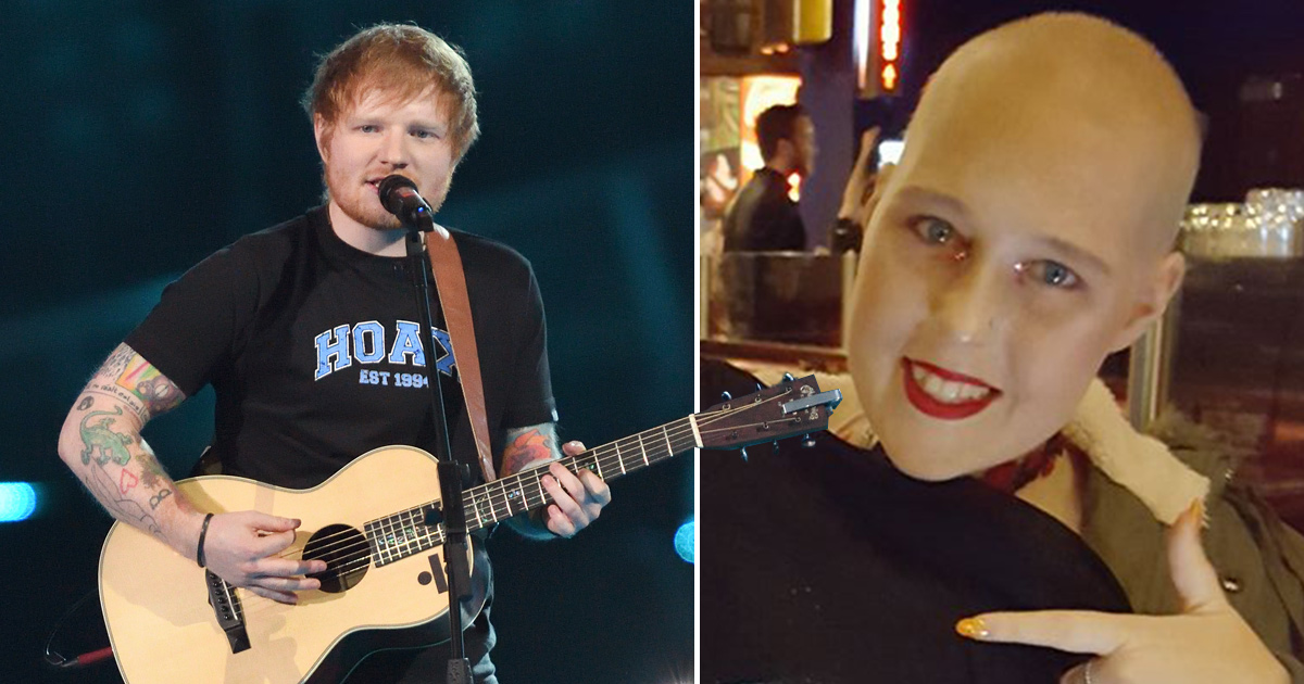 Ed Sheeran organises VIP concert tickets for terminally ill cancer patient scammed out of £600 by 'low life' touts