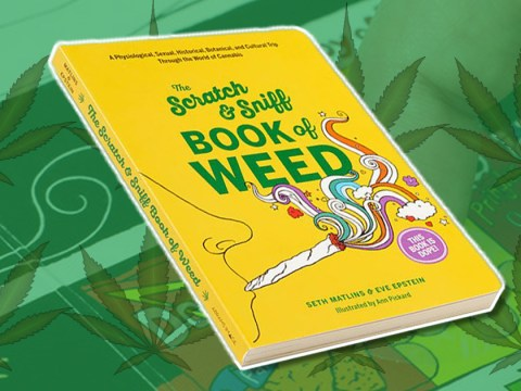 The Scratch & Sniff Book of Weed is probably the only history book worth buying