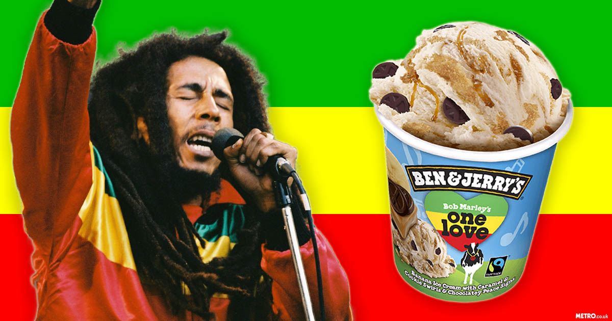 'Bob Marley's One Love' is the Ben and Jerry's flavour nobody noticed come to the UK