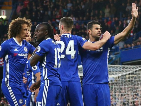 Chelsea fans convinced Diego Costa's goal celebration versus Middlesbrough means he's leaving