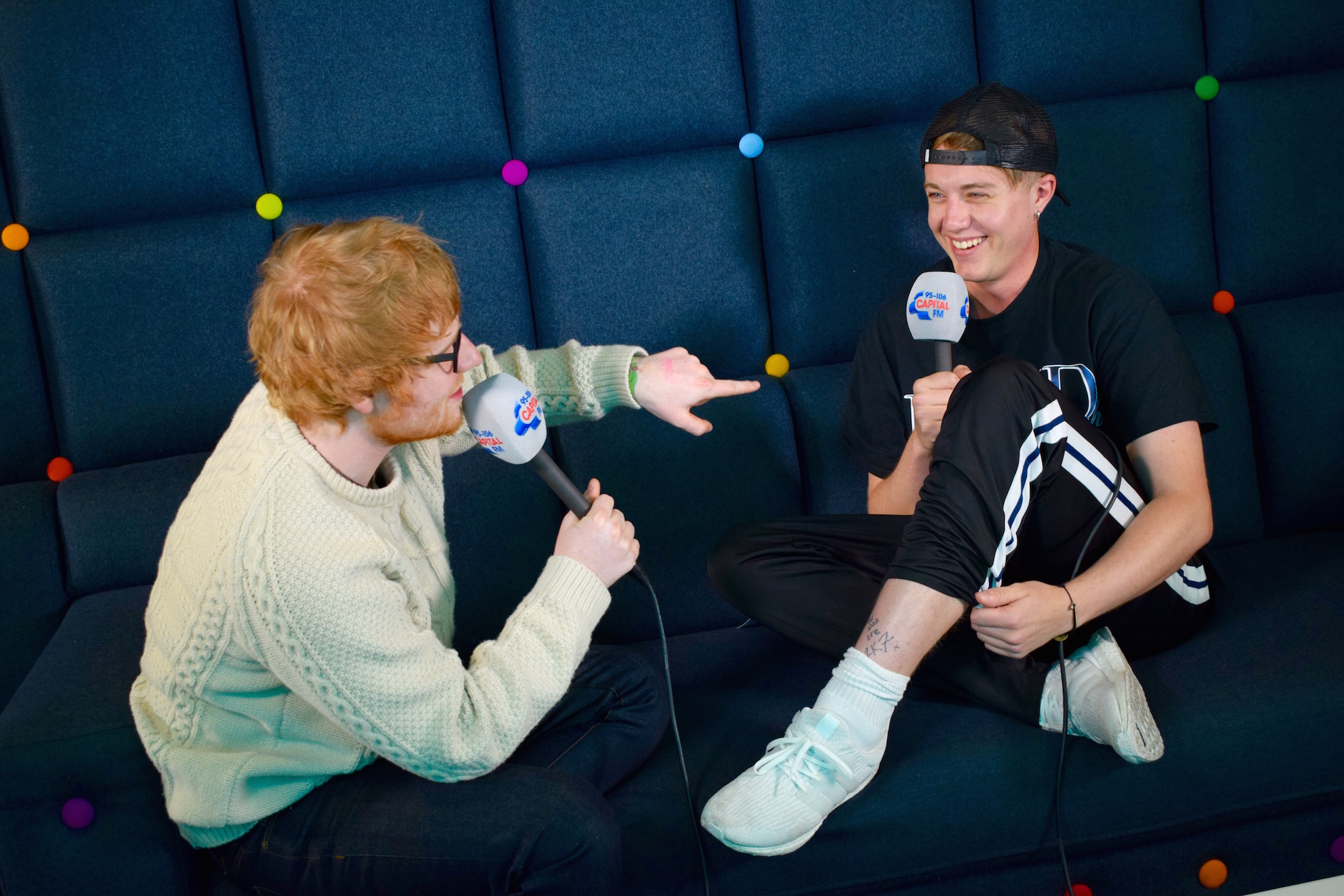 Ed Sheeran forced to call Capital FM presenter's mum to apologise for giving him a bad tat