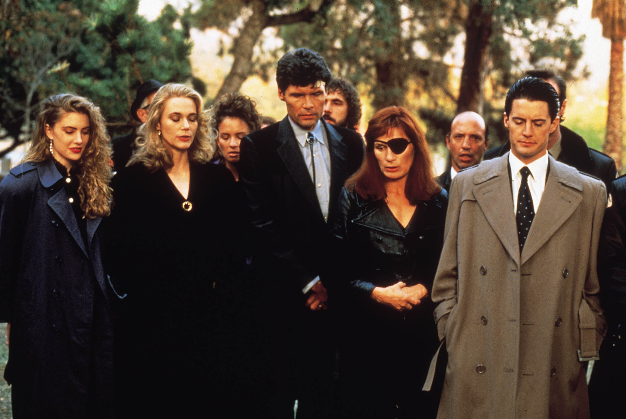Who's who in the new Twin Peaks? Who's returning to the show?