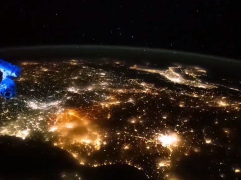 Breathtaking video shows what Europe looks like from space