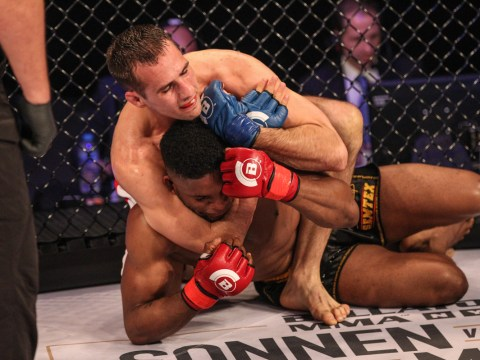 Rory MacDonald chokes out Paul Daley in Bellator debut in London