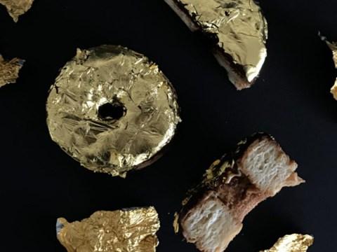 Doughnut week 2017: A 24-carat gold cronut has been created