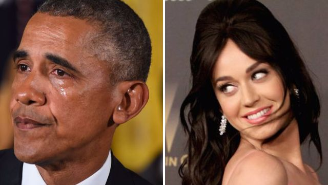 'You disgust me': Katy Perry blasted for 'offensive and racist' joke about former President Barack Obama