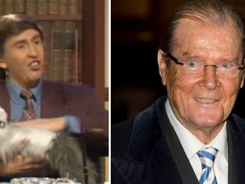 Remember that moment when Sir Roger Moore let Alan Partridge down?