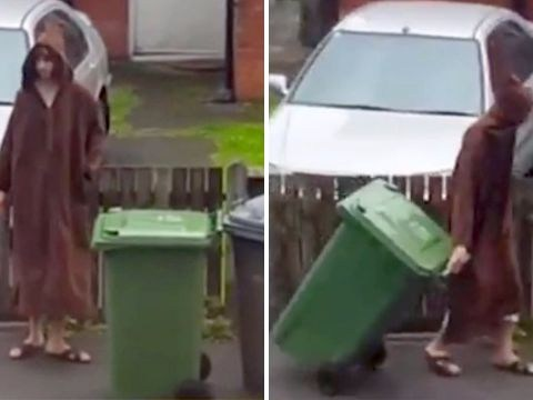 Manchester bomber Salman Abedi  filmed putting his bins out months before attack