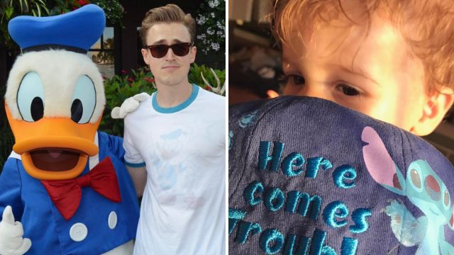 McFly's Tom Fletcher calls paramedics to Disneyland after son Buddy 'walloped' his head