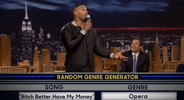 Jamie Foxx criticised for 'mocking sign language' on Jimmy
