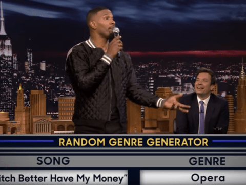 Jamie Foxx criticised for 'mocking sign language' on Jimmy Fallon