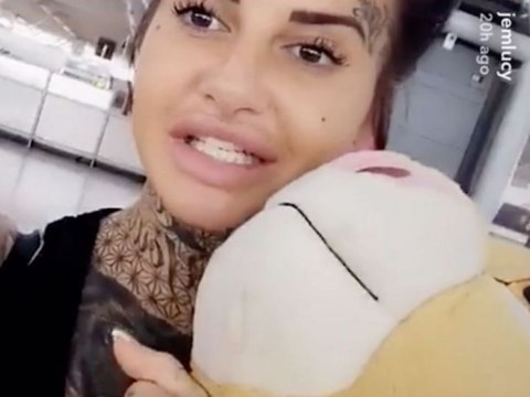 Ex on the Beach star Jemma Lucy stopped at Manchester Airport over 'sex trafficking' fears