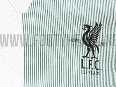 Liverpool away kit 'leak' reveals 1995/96 inspired quarter green and white design