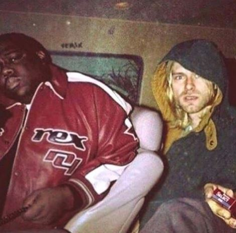 'Tupac's in the picture too': Nirvana's bassist gives a whole new perspective on Kurt Cobain and Notorious BIG photo