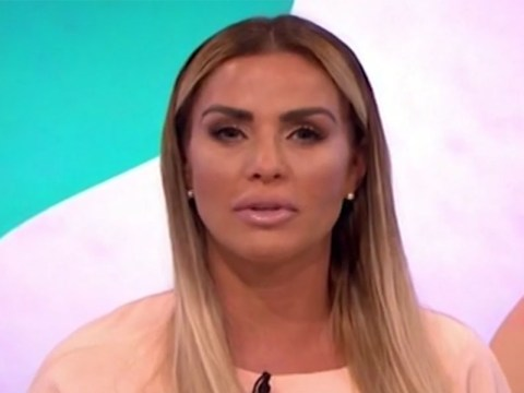 Katie Price responds to backlash over plastic surgery after stripping for Loose Women's Body Stories