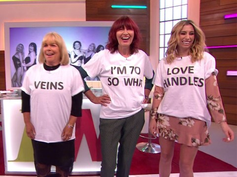 Loose Women reveal they stripped for Body Stories campaign to 'celebrate' the way they look