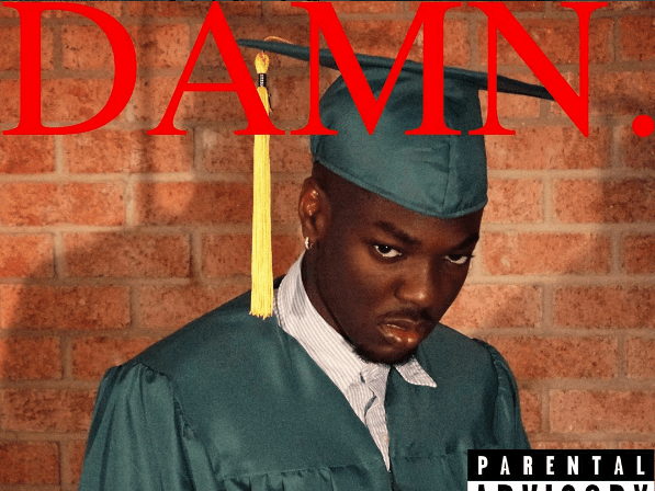 American student raises the bar as he turns graduation photos into iconic hip hop album covers
