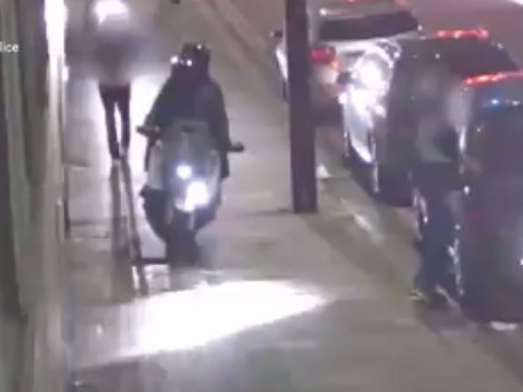 Moped gang broke tourist's leg during attempted robbery