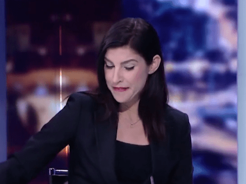 Newsreader chokes back tears as she finds out her show is being axed live on air