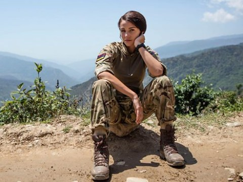 Michelle Keegan teases fourth Our Girl series as she celebrates end of filming in South Africa