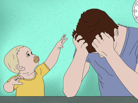It's time to talk about fathers' postnatal depression