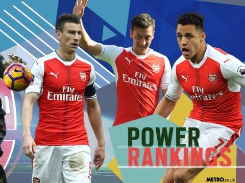 Arsenal power rankings: Who has been Arsene Wenger's MVP?