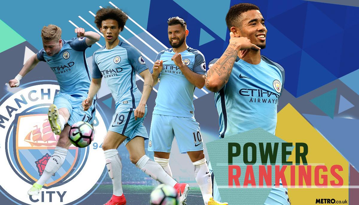 Manchester City power rankings: Sergio Aguero, Kevin De Bruyne or Leroy Sane – who has been Pep Guardiola's MVP?
