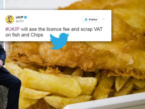 Ukip vows to scrap VAT on fish and chips