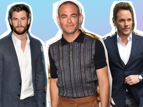 Chris Pine really wants you to remember he is not Chris Pratt nor Chris Hemsworth nor Chris Evans