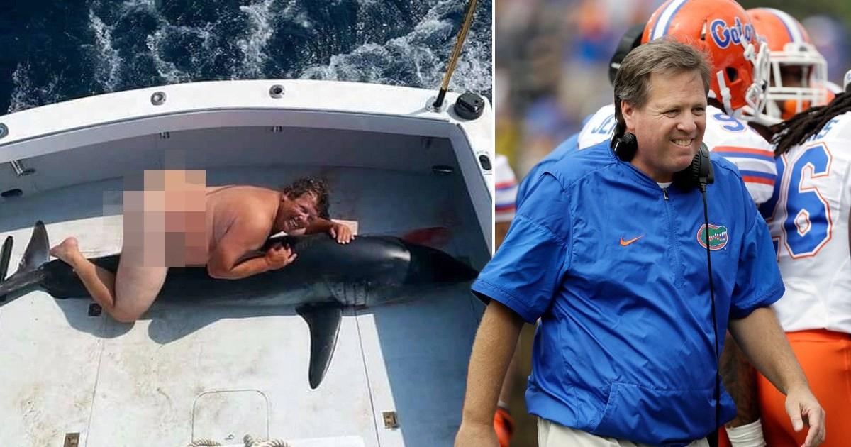 Florida football coach denies hes naked man humping