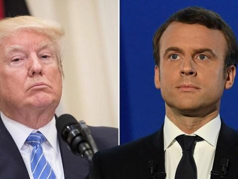 Emmanuel Macron subtly trolled Trump over climate change