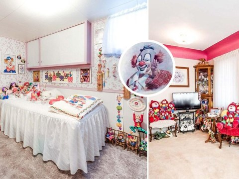 A home filled with clowns is up for sale and it is beyond terrifying