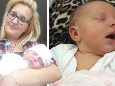 Mum gives birth hungover after not realising she was pregnant