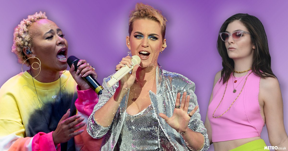 Katy Perry, Lorde and Emeli Sande lead emotional tributes at Radio 1's Big Weekend in Manchester