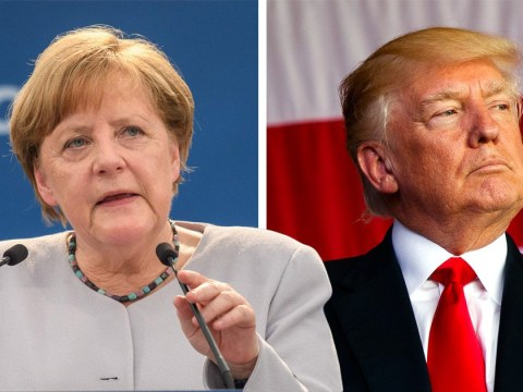 Angela Merkel warns Europe they 'can't fully count' on the US and Britain