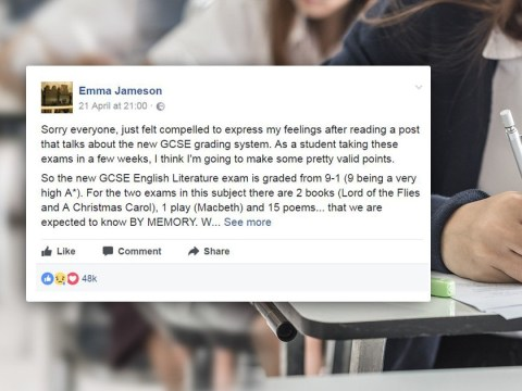 Girl's open letter shows how much stress children are under from exams