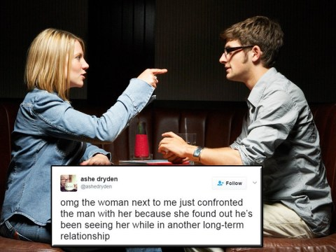 Girl live-tweets woman's conversation with long-term boyfriend who cheated on her