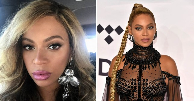 Beyonce's rep denies the singer has had 'Kylie Jenner' inspired lip fillers (Picture: Beyonce.com/Rex)