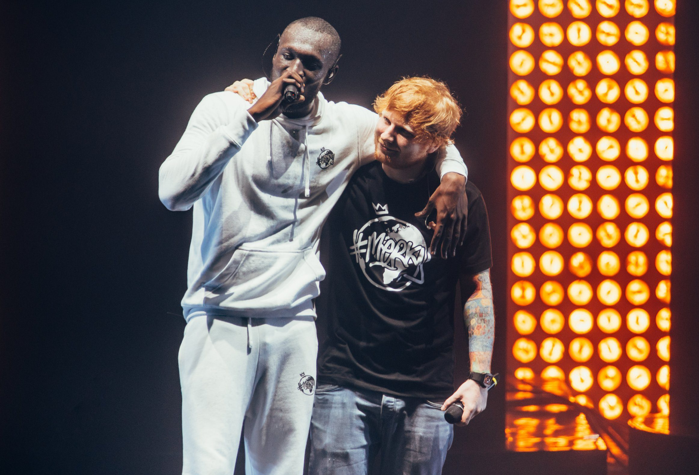 Stormzy says he might 'faint' if Ed Sheeran doesn't like his new album