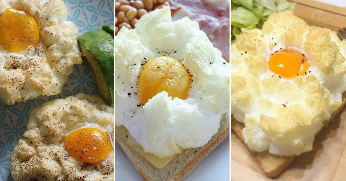 'Cloud eggs' are the latest crime against breakfast