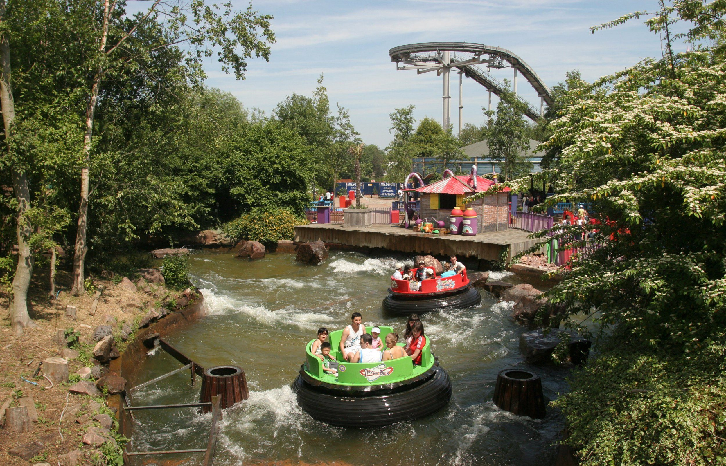Thorpe Park closes water ride after girl died at Drayton Manor