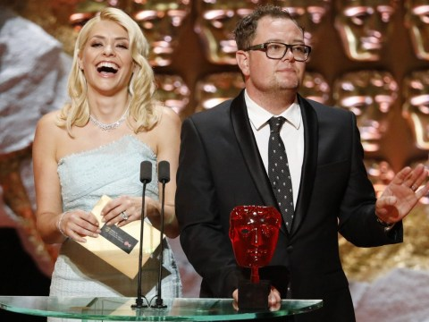 Baftas 2017: Alan Carr roasts Holly Willoughby onstage about her boozy antics on This Morning