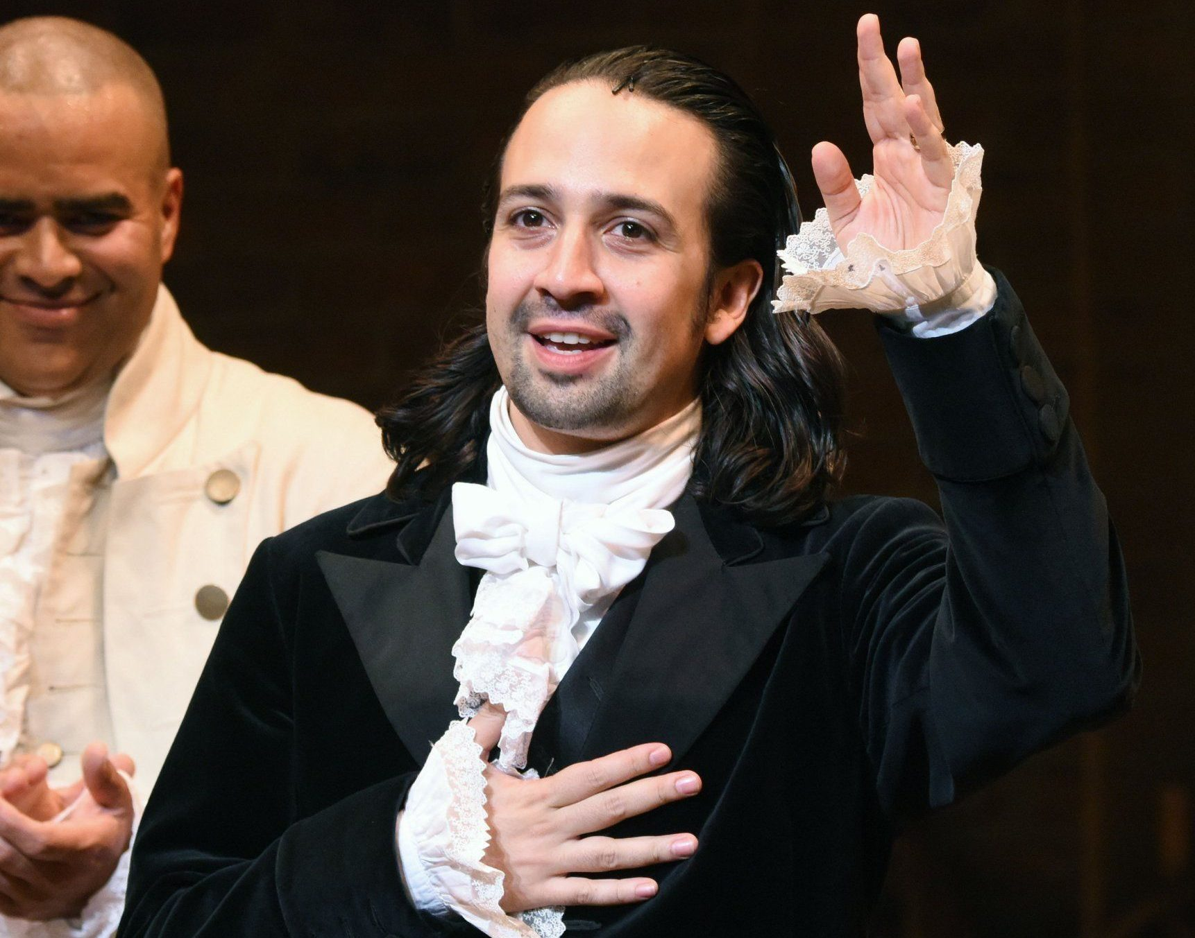 Hamilton's Lin-Manuel Miranda has a baby on the way as show prepares for prolific London launch