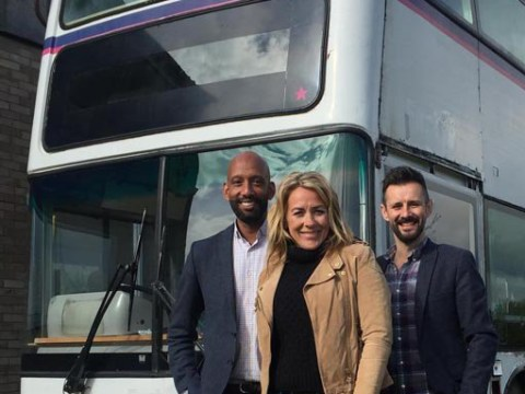 This inventor transformed a double-decker bus into a cosy family home with just £20,000 and you can't even change a lightbulb