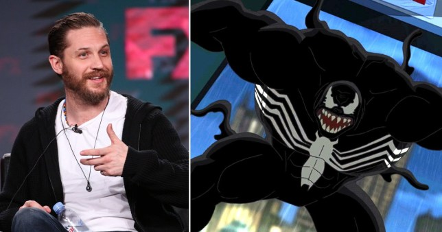 Tom Hardy cast as Marvel's Venom in Spider-Man spin-off