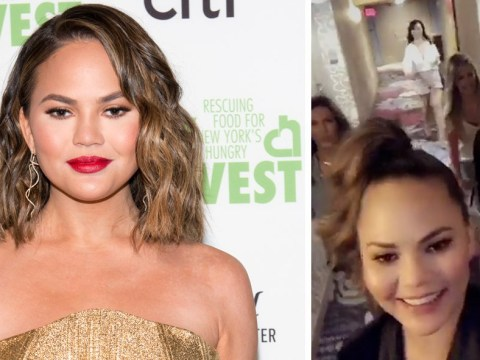 Chrissy Teigen ditched Billboard Music Awards and John Legend to see Magic Mike Live with her girls