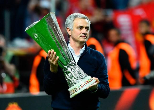 Image result for mourinho 2017 europa league