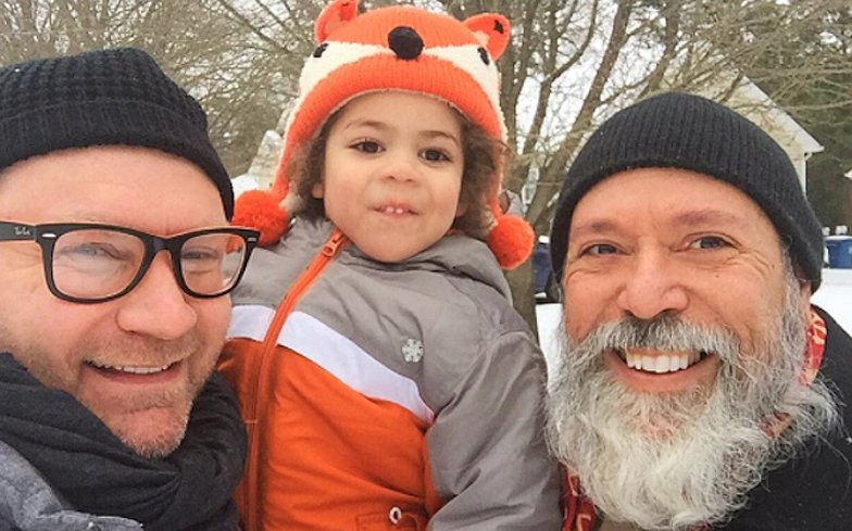 United Airlines accuses gay dad of having hands 'too close' to son's genitals