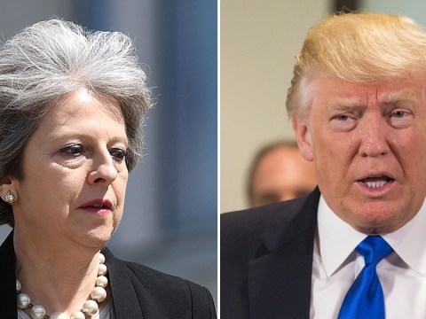Theresa May will confront Donald Trump over intelligence leaks
