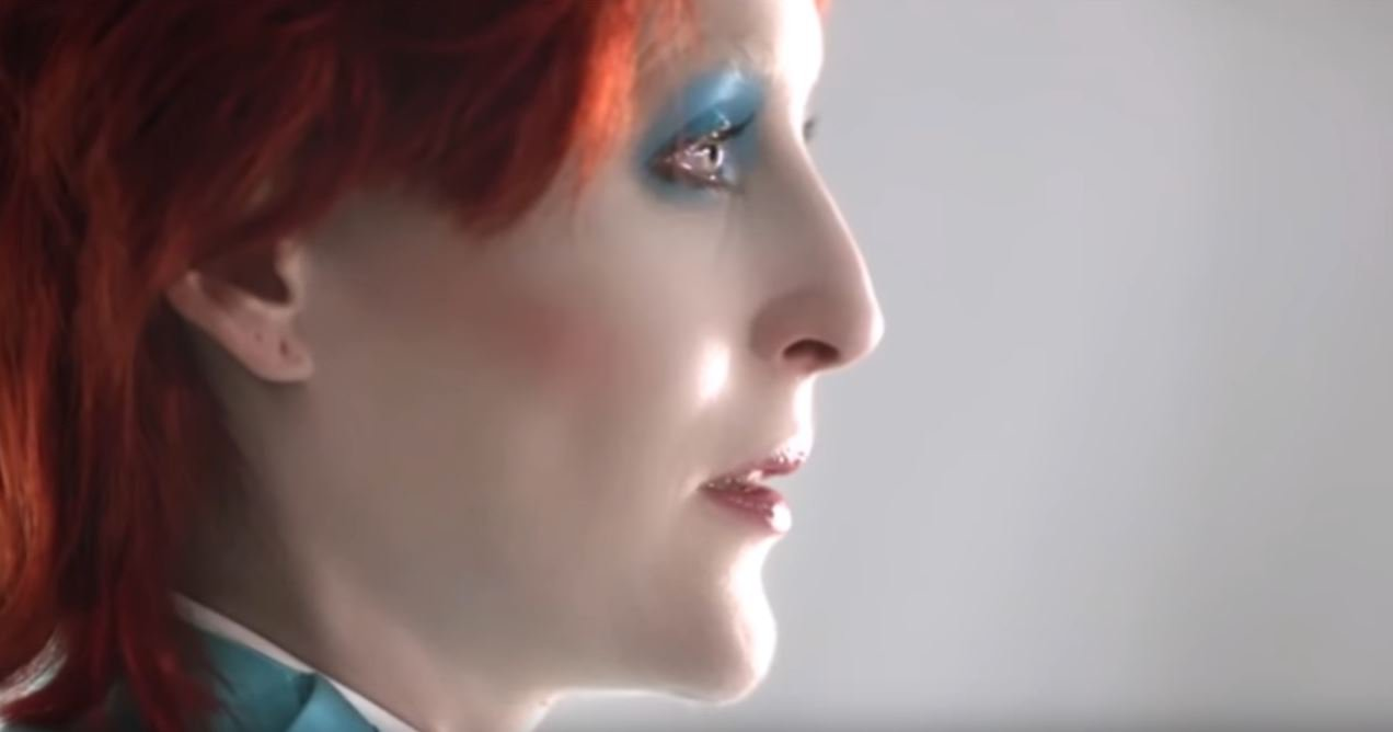 Gillian Anderson as David Bowie in American Gods is as spectacular as it sounds